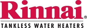 Rinnai tankless water heaters logo