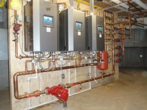 Commercial Boiler Installation for Prescott United Church