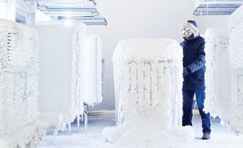 trane AC freezing test