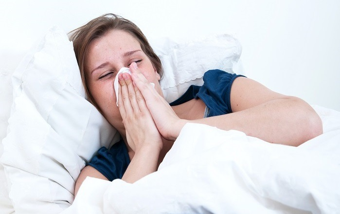 dry air causes winter-long colds